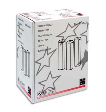 5 ETOILES Bobines pour télécopieur - format 216 x 12,7 mm x 30 m