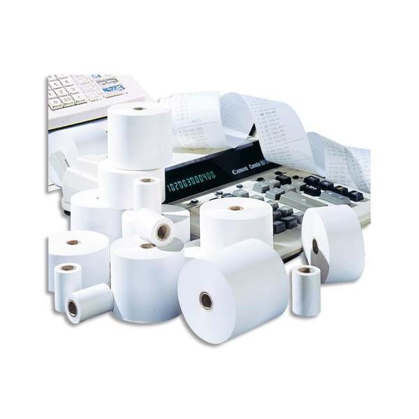 5 ETOILES Bobine pour caisse enregistreuse - 70 x 70 x 12,7 mm papier offset extra blanc (photo)