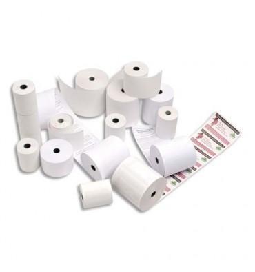 EXACOMPTA Bobines pour caisses enregistreuses papier thermique blanc 55g 80 x 60 x 12 mm 45m,1 pli