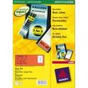 AVERY Boîte de 480 étiquettes de couleur enlevable rouge 63,5 x 33,9 mm L6034-20