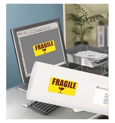 AVERY Boîte de 480 étiquettes de couleur enlevable jaune 63,5 x 33,9 mm L6035-20