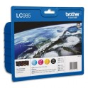 BROTHER Value pack jet d'encre couleur LC985VALBPDR