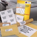 AVERY Boîte de 2400 étiquettes copieur coins carrés 70 x 37 mm blanc DP247-100
