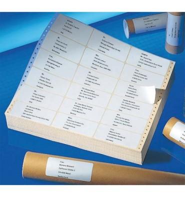 AVERY Boîte de 2000 étiquettes ordinateur 125 x 74 mm T5112-500