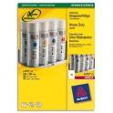 AVERY Boîte de 20 étiquettes laser inaltérables blanches 210 x 297 mm L4775-20
