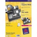 AVERY Boîte de 8400 Mini étiquettes blanches 46 x 11,1 mm (boîte de 100) L7656-100