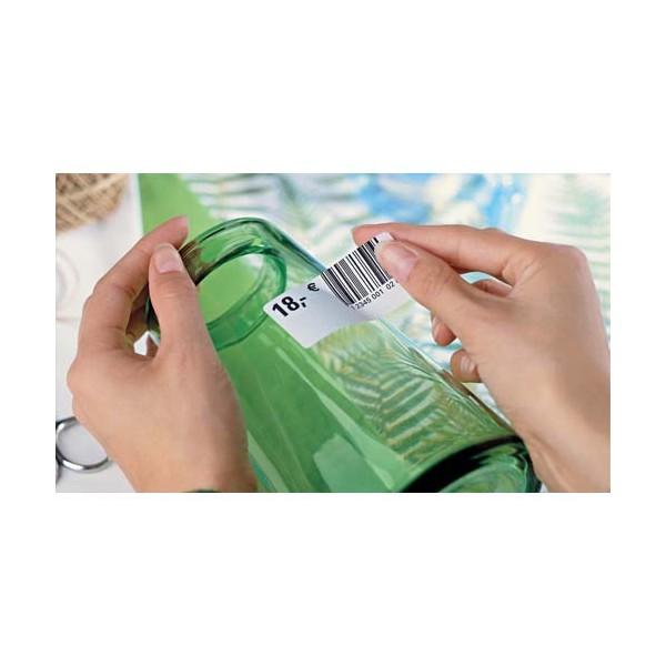 AVERY Boîte de 1200 étiquettes enlevables 45,7 x 21,2 mm impression laser