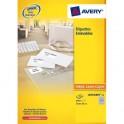 AVERY Boîte de 300 étiquettes enlevable 99,1 x 42,3 mm impression laser L4743REV-25