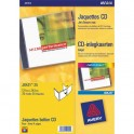 AVERY Boîte de 50 étiquettes laser monochrome pour CD et DVD L7676-25
