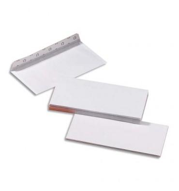 5 ETOILES Boîte de 500 enveloppes blanches auto-adhésives 80g format 110 x 220 mm DL