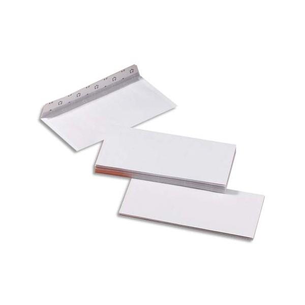 5 ETOILES Boîte de 500 enveloppes blanches auto-adhésives 80g format DL (photo)
