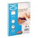 GPV Paquet de 25 enveloppes auto-adhésives 90 grammes format 114 x 162 mm C6