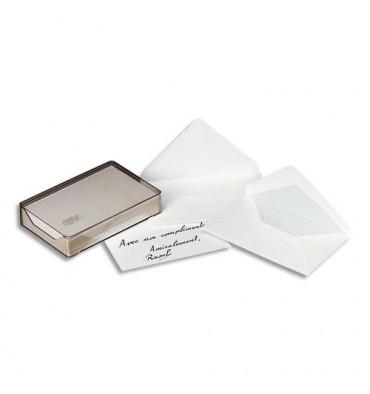 GPV Boîte de 500 enveloppes gommées format 90 x 140 mm