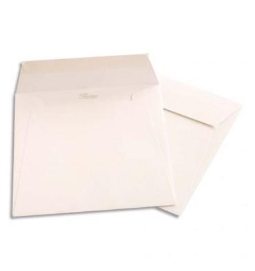 GPV Boîte de 500 enveloppes carrées blanches 170 x 170 mm 120 g auto-adhesives