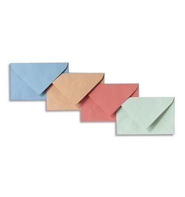 GPV Boîte de 500 enveloppe élection 64 grammes coloris bleu format 90 x 140 mm