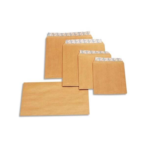 LA COURONNE Paquet de 50 pochettes kraft 90 grammes format 176 x 250 mm B5