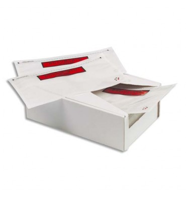 EMBALLAGE Boîte de 1000 Pochettes document ci-inclus recyclées - Format C6 : 165 x 115 mm transparent