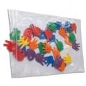 EMBALLAGE Paquet de 100 sacs, fermeture rapide en polyéthylène 50 µm - format 22 x 28 cm transparent