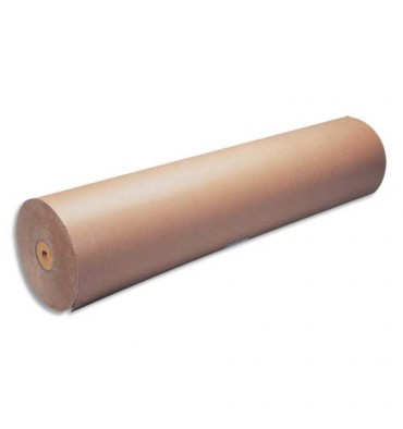 MAILDOR Bobine de papier kraft 70g brun - Dimensions : 1 x 350 m