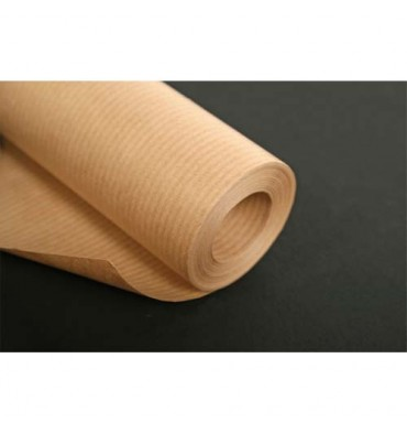 MAILDOR Bobine de papier kraft 60g brun - Dimensions : 1 x 50 mètres