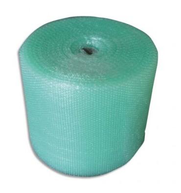 EMBALLAGE Mini rouleau à bulles transparent en polyéthylène - Diamètre 15 cm, 0,5 x 3 m, 60 microns