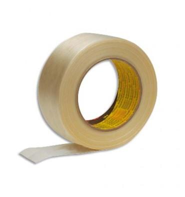 SCOTCH Ruban armé renforcé en fils de verre 131 microns - 50 mm x 50 m