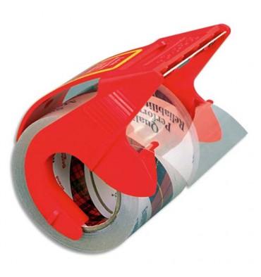 SCOTCH Ruban adhésif d'emballage polypropylène 75 microns - 50 mm x 20 m - transparent sur dévidoir