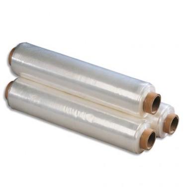 EMBALLAGE Bobine de film étirable manuel cast transparent 15 microns - 45 cm x 300 m