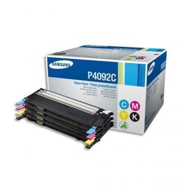 SAMSUNG Rainbow pack de 4 cartouches toner laser noir + couleur CLT-P4092C