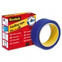 SCOTCH Ruban de sécurité 820 bleu à bords dentelés, format 3,5 cm x 33 m