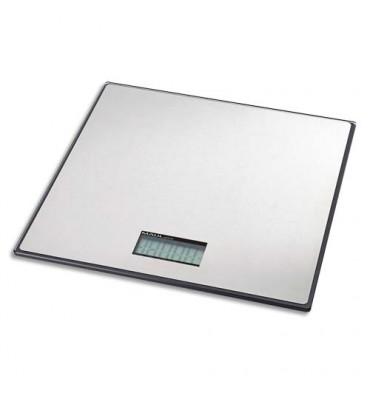 MAUL Pèse-paquet MAULglobal forme très plate 50 kg portée minimum 60g - 32,2 x 3 x 32 cm
