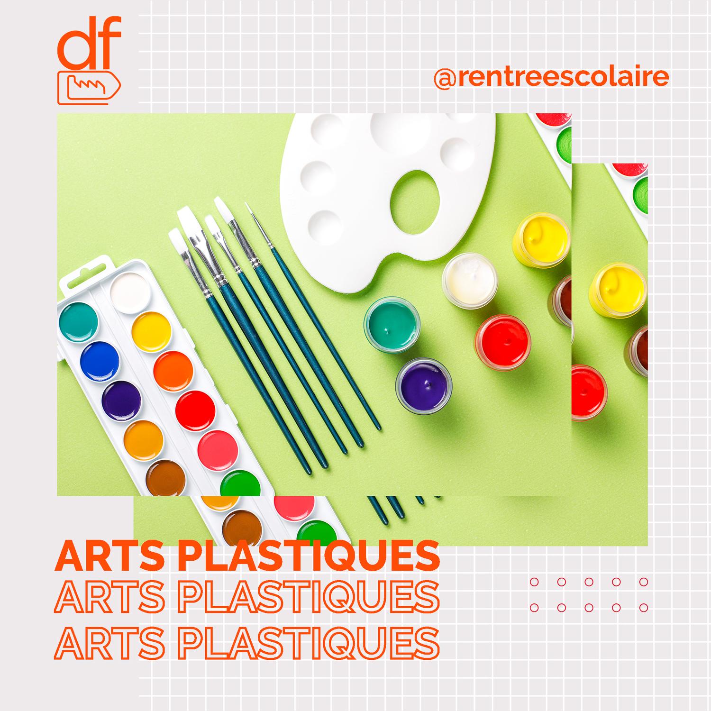 fournitures arts plastiques