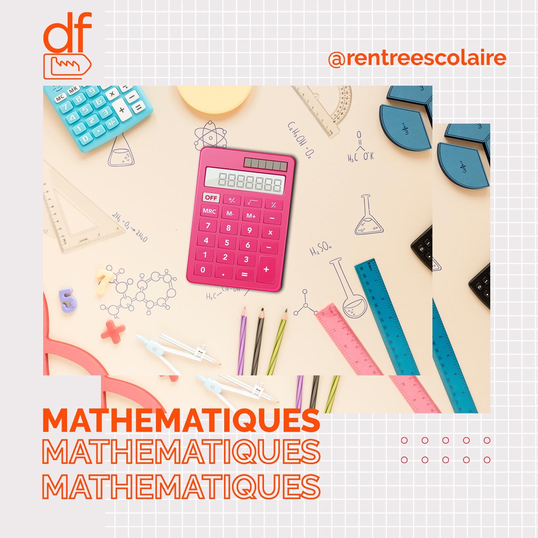 mathematiques fournitures scolaires